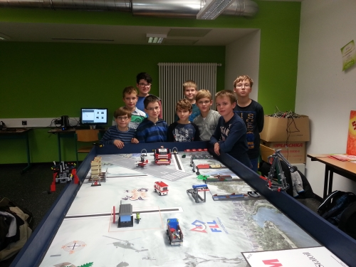 Team SpaceRobots 2013